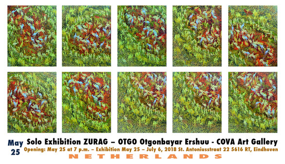 Solo Exhibition with OTGO cova art gallery Holland